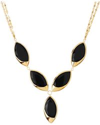 Lana Jewelry - 14k Elite Jet Marquise Onyx Necklace - Lyst