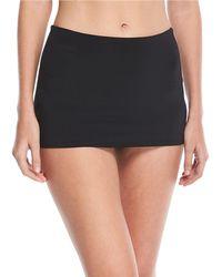 Seafolly - Active High-waist Skirted Swim Bikini Bottom - Lyst
