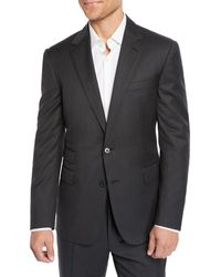 Ralph Lauren Men's Two-piece Basic Wool Suit - Gray