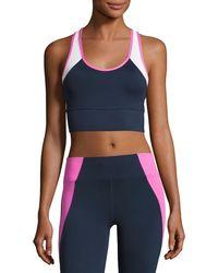 Heroine Sport - Tread Colorblock Sports Bra - Lyst