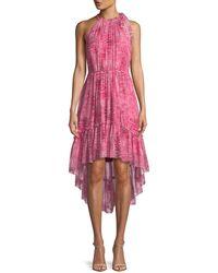 Elie Tahari - Primrose Floral-print Silk Dress - Lyst