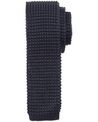 Lanvin - Knit Silk Tie - Lyst