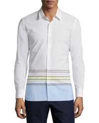 Opening Ceremony - Button-front Dress Shirt - Lyst
