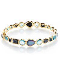 Ippolita - 18k Rock Candy Mixed Hinge Bracelet In Midnight Rain - Lyst