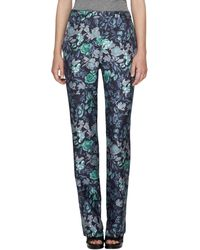 Burberry - Floral-print Pajama Trousers - Lyst
