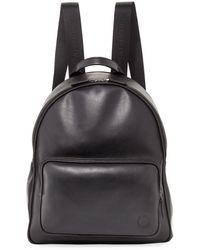 Giorgio Armani - Calfskin Leather Backpack - Lyst