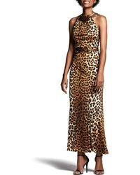 Arizona print maxi dress