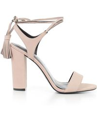 Kendall + Kylie - Sandals Tacco Alto Con Nappine - Lyst