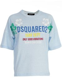DSquared² - T-shirt C/stampa - Lyst