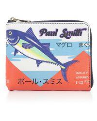 Paul Smith - P.foglio Zip C/motivi - Lyst