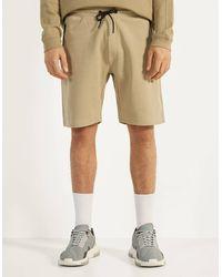 Pantalones Cortos Bershka De Hombre Lyst Es