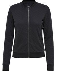 ONLY Bomber Sweatshirt - Zwart