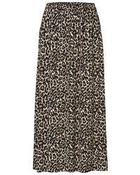 Vero Moda Normal Waist Maxirock - Grau
