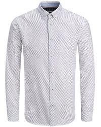 Jack & Jones Button-down Hemd - Weiß