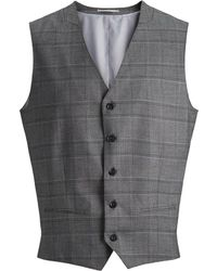 Jack & Jones Double-breasted Gilet - Grijs