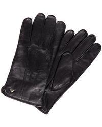 J.Lindeberg Milo Surface Leren Handschoenen - Zwart