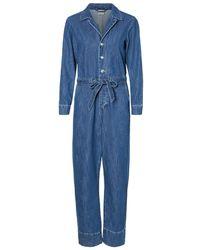 Vero Moda Denim Jumpsuit - Blauw