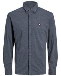 Jack & Jones Schlichtes Hemd - Blau