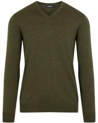 J.Lindeberg Newman Perfect Merino Sweater - Groen