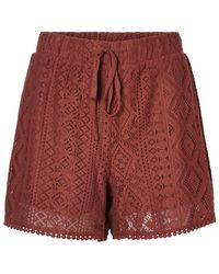 Vero Moda Regular Waist Shorts - Bruin