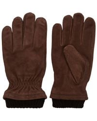 Jack & Jones Wildleder Handschuhe - Braun