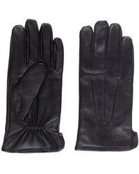 J.Lindeberg Bono Leren Handschoenen - Zwart