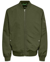 Only & Sons Bomber Jas - Groen