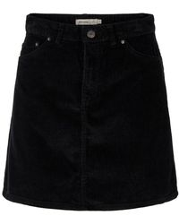 Vero Moda Corduroy Rok - Zwart