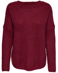 ONLY - Lockerer Strickpullover - Lyst