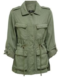 ONLY Utility Jacket Dames - Groen
