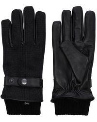 Jack & Jones Leren Handschoenen - Grijs