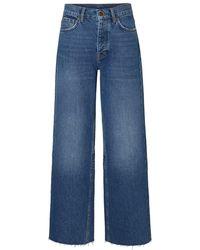 Vero Moda Vmalexa Regular Waist Loose Fit Jeans - Blauw