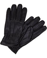 Jack & Jones Leder Handschuhe - Schwarz