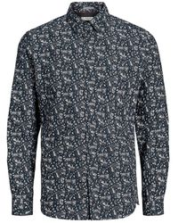 Jack & Jones Paisley Print Overhemd - Blauw