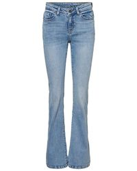 Noisy May - Normal Waist Skinny Fit Jeans - Lyst