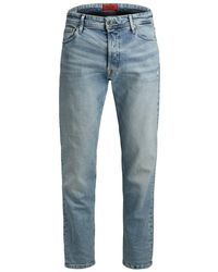 Jack & Jones Fred Original Jos 625 Sts Tapered Jeans - Blauw
