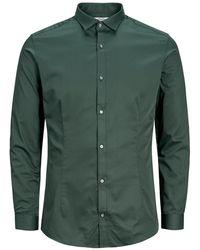 Jack & Jones Super Slim Overhemd - Groen