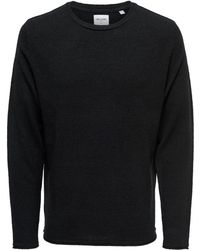 Only & Sons O-neck Knitted Pullover