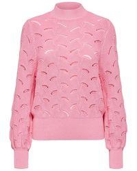 SELECTED Biologisch Katoenen Sweater - Roze