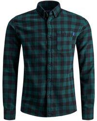 Jack & Jones Holzfäller Hemd - Grün