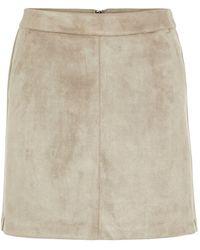 Vero Moda Mini Rok - Bruin