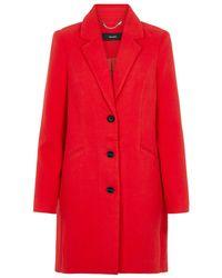 Vero Moda Lange Jacke - Rot