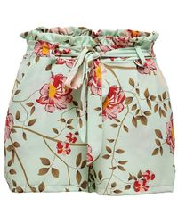 ONLY Paperbag Shorts - Blauw