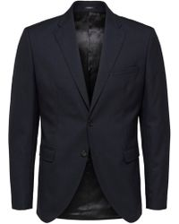 SELECTED Slim Fit Blazer - Blauw