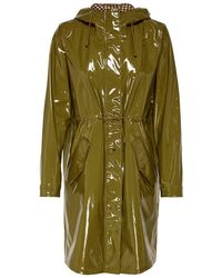 ONLY Vinyl Glazed Jacket Dames Green - Groen