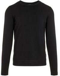 J.Lindeberg Newman Perfect Merino Sweater - Zwart