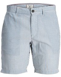 Jack & Jones Seersucker Akm Chino Short - Blauw