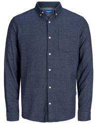Jack & Jones Button-down Hemd - Blau