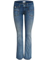 ONLY Bootcut Jeans Ebba Low - Blauw