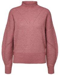 SELECTED Wollen Sweater - Roze